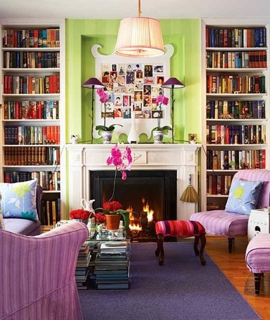 Bold colors play well together.
